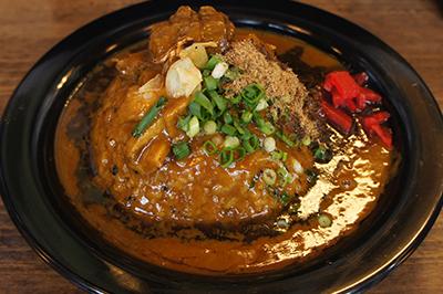黒丼カレー(味噌汁付)