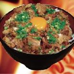 豚玉丼(味噌汁・スープ割付)