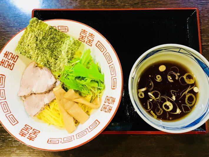 鯵虎(鯵煮干しつけ蕎麦)