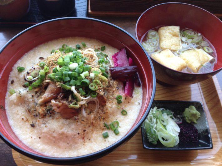 白丼(焼豚とろろ丼)味噌汁・スープ割付